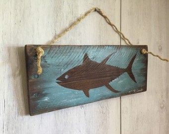 Tuna wall hanging