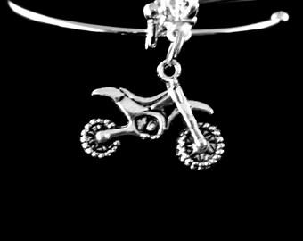 Dirt bike Bracelet Dirt Bike Charm Bracelet Motor cross bracelet
