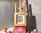 ON SALE Love Grows Here - Framed Mini Papercut