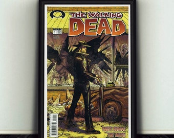 11x17 The Walking Dead #1 Comic Book Cover Poster Print