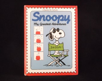 SNOOPY My Greatest Adventures by Charles M. Schulz -  c 1988 Edition From United Feature Syndicate, Inc.