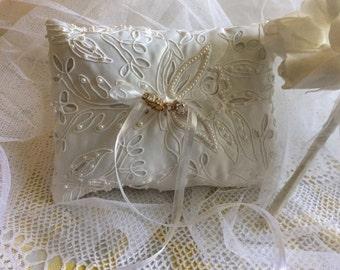Beautiful Handmade Ring Bearer cushion
