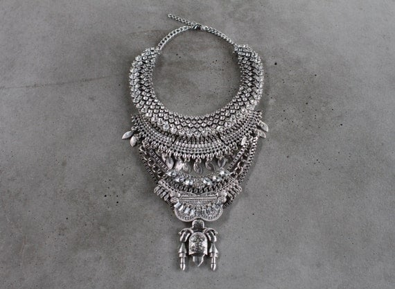 Statement Necklace - Handcrafted: Judah.