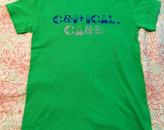 Critical care ICU nurse RN shirt medical shirt doctor shirt