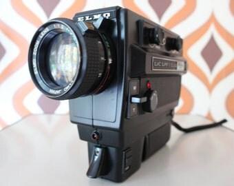 Elmo 350SL macro  retro vintage super 8 camera 8mm movie cine film kodak 1970s