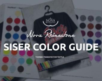 Siser Color Guide / New Easyweed Heat Transfer Vinyl