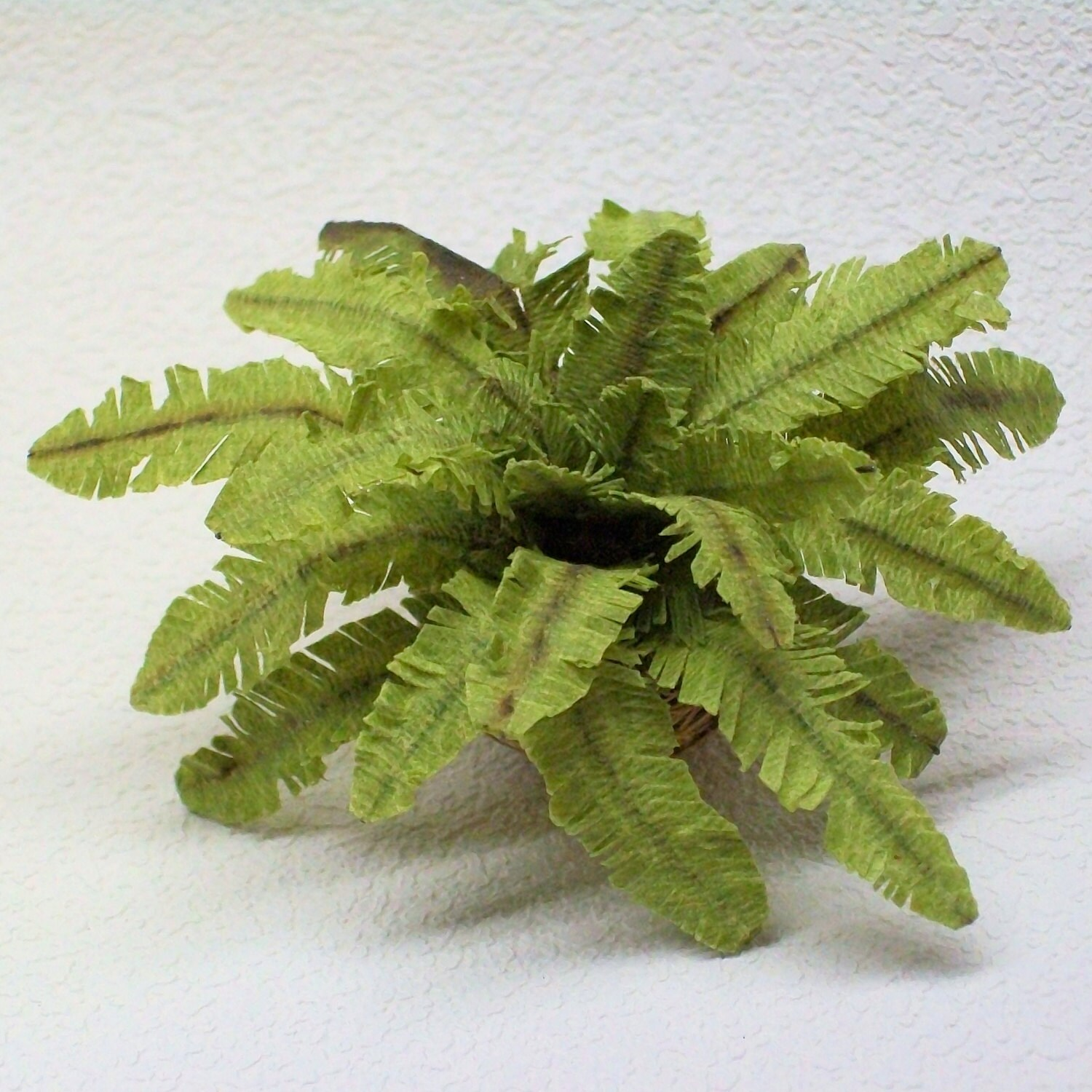 Miniature Fern Potted Plant For Your Victorian By Tinasminis