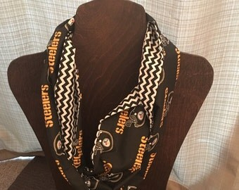 Pittsburgh Steelers Cotton Infinity Scarf