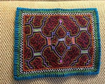 Shipibo Embroidery Tapestry