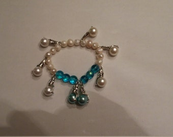 Pearls of the Nile Charm Bracelet
