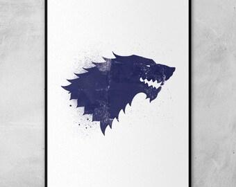 Game of Thrones' Sigils Poster Inspired Artwork