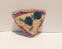 Knit Pizza Slice
