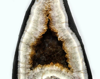 Citrindruse, a beautiful polished agate edge