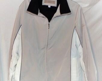 Liz Claiborne Lizsport Jacket water resistant Sporty Jacket Size M Medium Women's jacket