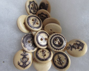 Nautical Buttons