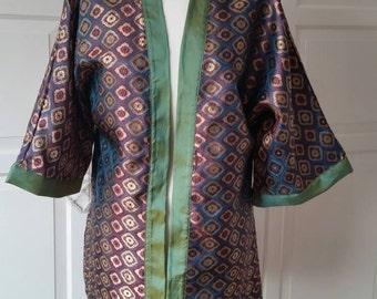 oriental inspired 1920s stywle kimono