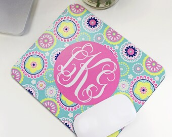 Greek Sorority Personalized Mouse Pad, Multiple Patterns available!