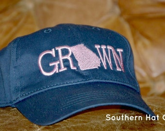 Grown In Georgia Hat (Other States Available)