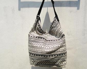 geometric crossbody  bag, hobo messenger bag, aztec weekender bag, tribal crossbody, boho native american school bag,coachella C21
