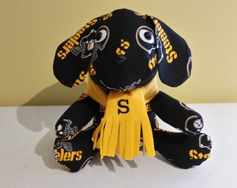 Pittsburgh Steelers Stuffed Puppy