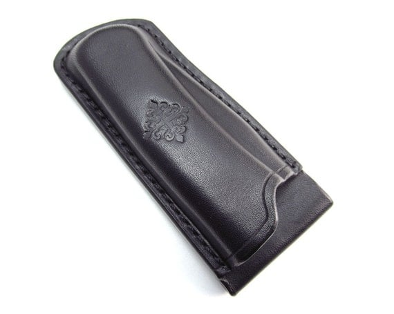 Custom Leather Sheath for Buck 110 Folding Hunter Knife