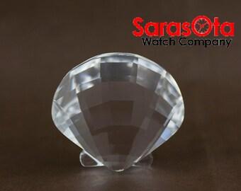 Swarovski Scallop Sea Shell Crystal Figurine