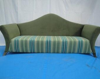 sofa ,three seater sofa,camel back sofa,fabrick sofa,modern chair,green chair ,living room,modern sofa,