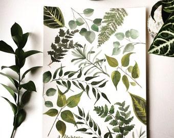 Botanical Pattern Original