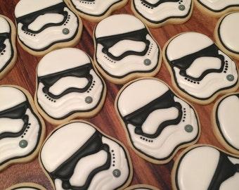 Stormtrooper Sugar Cookies (12)
