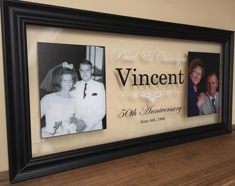 50th Anniversary Gifts For Parents Wedding 50