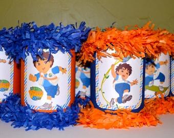 Set Of 12 Mini Pinatas Party Favor Goodie Bags