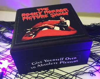 Rocky Horror Picture Show Jewelry Box, Halloween movies