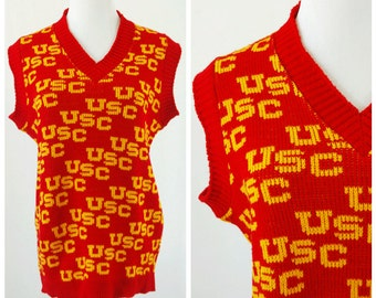 Usc sweater | Etsy