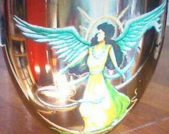 Heavenly Angel Wine Goblet