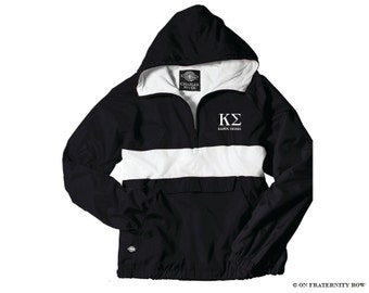Kappa Sigma Fraternity Classic Letters Anorak Jacket