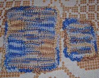 Knitting Pattern Afghan Rug : Knitted afghan rug Etsy