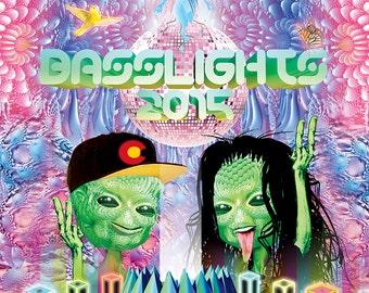 Basslights 2015 Poster