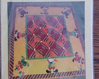ScrApiBiTs Clowns Quilt Craft Pattern