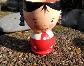 Little Girl Sevi Egg Cup