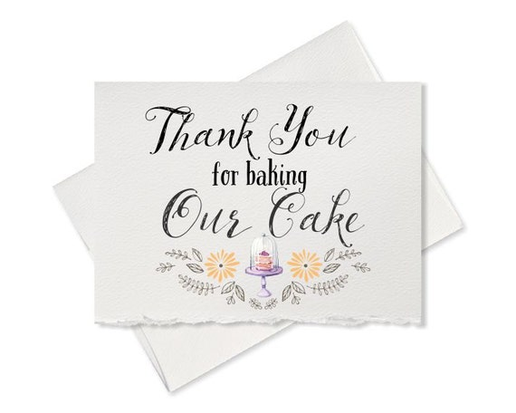 Thank You For Baking