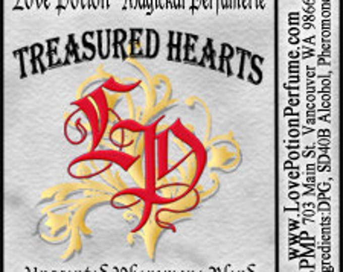 PHEROTINE! Treasured Hearts for Women ~ Pheromone Blend - Limited Ed UNscented Pheromone Trials by Love Potion Magickal Perfumerie