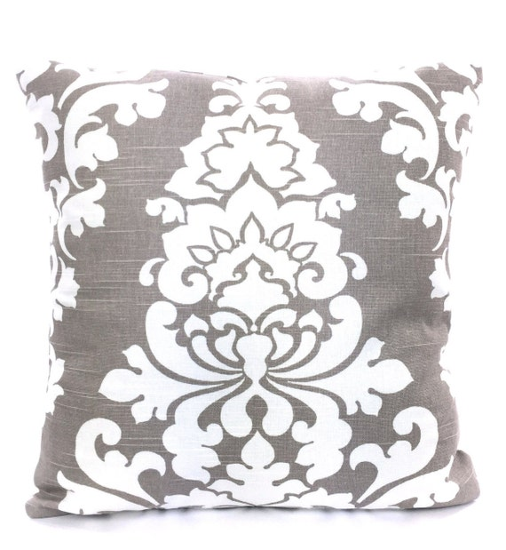 Throw Pillows For Taupe Sofa : Taupe Ecru Decorative Throw Pillow Covers by PillowCushionCovers