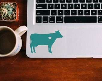 Cow Sticker National Cow Day Farm Cow Decal Car Laptop Vinyl Decal Sticker
