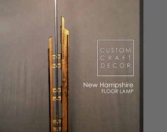 New Hampshire Industrial Style Edison Floor Lamp