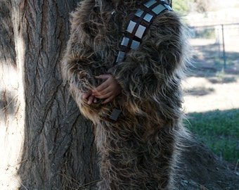 Baby & Toddler Chewbacca Costume, Chewie, Wookiee, Star Wars, Halloween, Comic Con, Photography Prop, Unique Made to Order