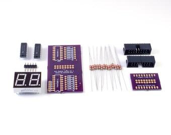 Unassembled AmmoCounter Kit for NERF darts, disks & foam balls