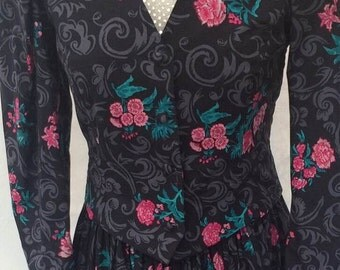 Women's vintage Laura Ashley dress and jacket (UK 10-12)