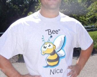 Adult Bee Nice T-Shirt