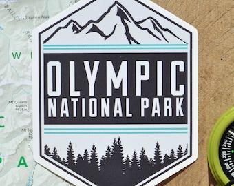 Vinyl Sticker - Olympic National Park