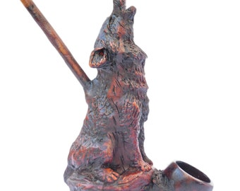 unique animal pipe related items etsy
